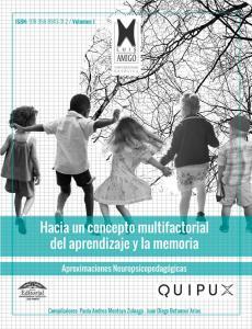 Cubierta para Hacia un concepto multifactorial del aprendizaje y la memoria: Aproximaciones Neuropsicopedagógicas