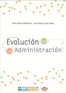 Cubierta para Evolución de la administración