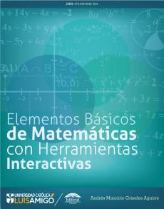 Cubierta para Elementos Básicos de Matemáticas con Herramientas Interactivas