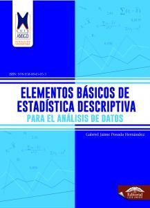 Cubierta para Elementos básicos de estadística descriptiva para el análisis de datos