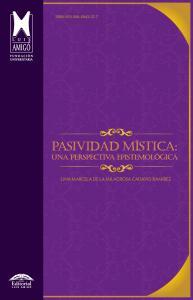 Cubierta para Pasividad mística: una perspectiva epistemológica