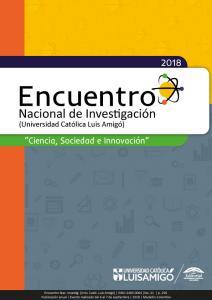 """Cubierta para XXI Encuentro Nacional de Investigación: """"Ciencia, Sociedad e Innovación"""""""