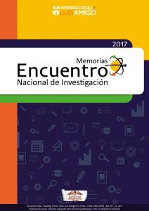 """Cubierta para XX Encuentro Nacional de Investigación: """"Investigación, desarrollo e innovación"""""""