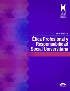 Cubierta para Ética Profesional y Responsabilidad Social Universitaria