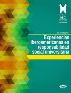 Cubierta para Experiencias iberoamericanas en responsabilidad social universitaria